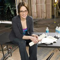 I was the first female head writer :  Tina Fey, American actress, comedienne, writer, and producer